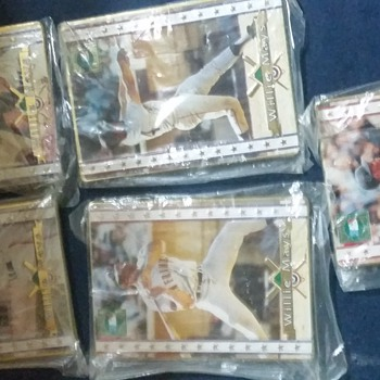 My one of A kind 1994 Willie Mays Cooperstown  Collection 5 card set with a Unreversable error on Card #3 - Baseball