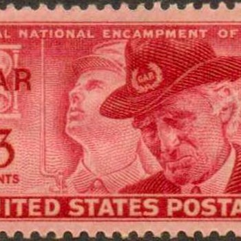 "1949 - ""G.A.R. Issue"" Postage Stamp (US)"