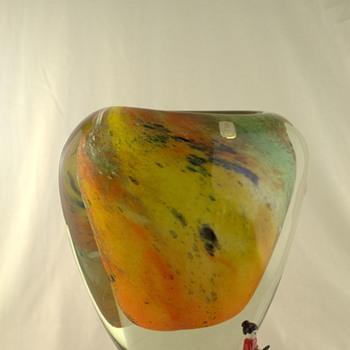Marti Glass makes them big - Art Glass