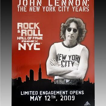 John Lennon poster-2009