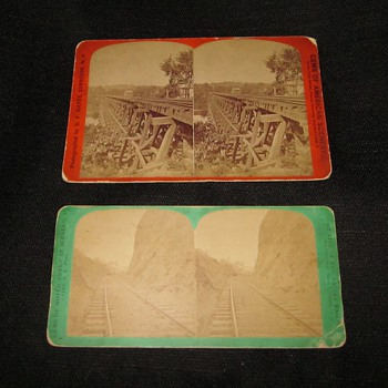 Valley Railway Stereoviews (circa 1880-1890) - Railroadiana