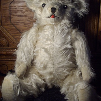Antique Mohair Jointed Teddy Bear.