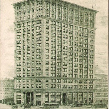 1906 Post Card, Candler Building, Atlanta Georgia - Coca-Cola