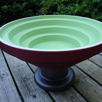 big pottery bowl by ettore sottsas - Pottery