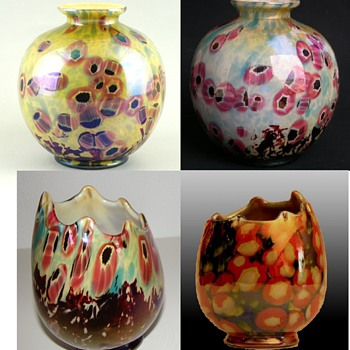 Kralik - Pontil pieces - Art Glass