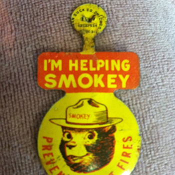 Smokey The Bear badge?