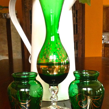Go Green - Art Glass
