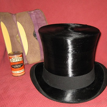 Dunlap & Co. N.Y.  Silk Top Hat