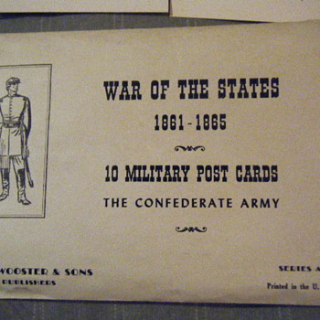 military post cards - Postcards