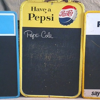 Pepsi Menu Boards