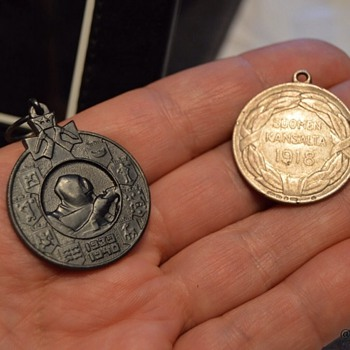 War medals from Finland