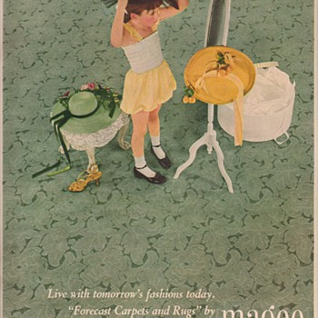 1950 Magee Carpet Advertisements