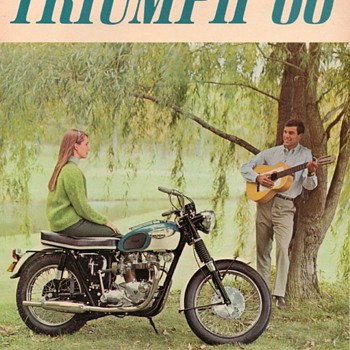1966 - Triumph Motorcycles Sales Brochure