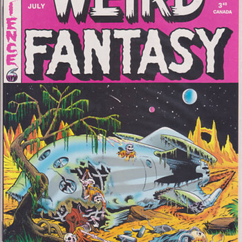 Weird Fantasy/Weird Science - Comic Books