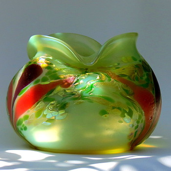 Kralik Crocus - Art Glass