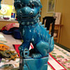 Antique Turquoise Foo Dogs