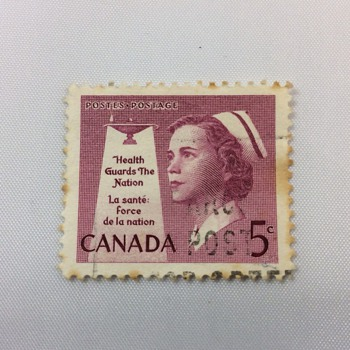 Canadian stamp