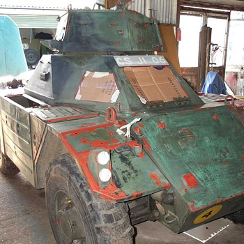 Daimler Ferret Restoration No.7 - Military and Wartime