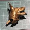 Metal German Shepherd Head