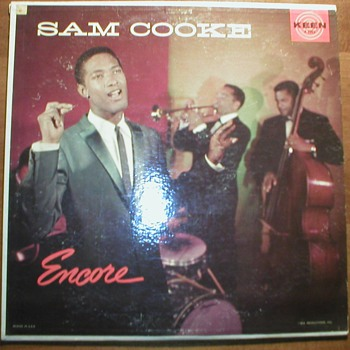 SAM COOKE ORIGINAL MONO ALBUMS ON KEEN RECORDS