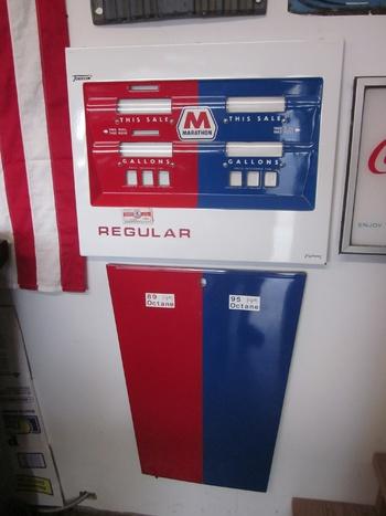 Marathon gas pump