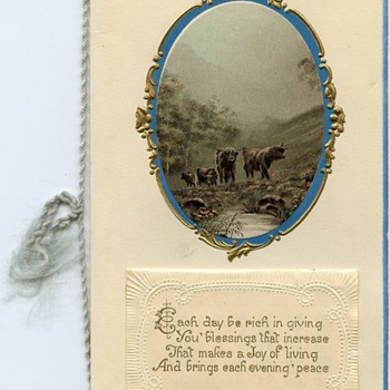 Personalized Christmas Card 1924 &amp; 1925 calendar 