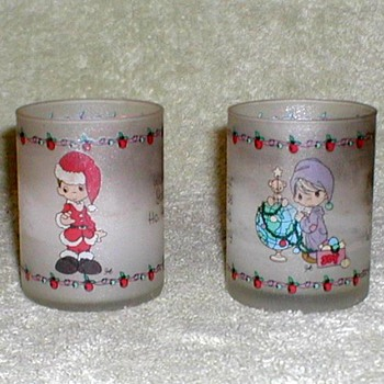 Christmas Votive Candles - Precious Moments