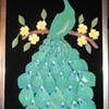 60's Peacock Art