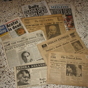 Old Newspaper collection - Paper