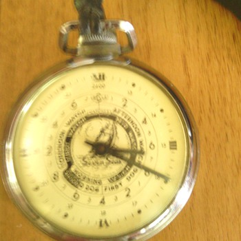 nautical watches , Norfolk VA. How old is this ?  - Pocket Watches