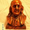 """Vintage 1950's """"Benjamin Franklin"""" Franklin Insurance Company ~ Bronze Bank"""