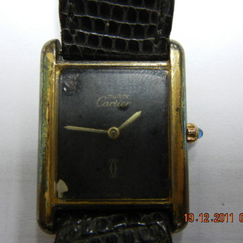 Cartier Tank Quartz Wristwatch