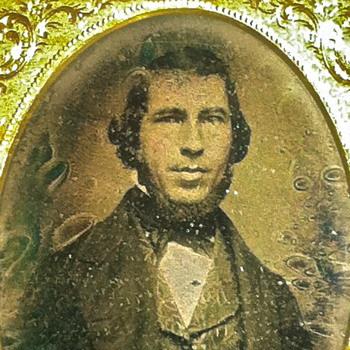 Daguerreotype Southern Politician Document in Vest. Georgia Estate
