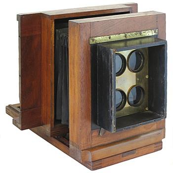 1860s Carte de Visite Studio Camera