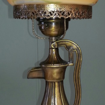 Unique Water Pump Lamp