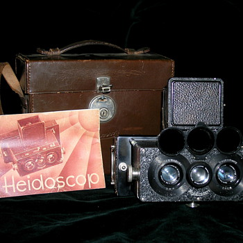 Rollei:Heidoscop 1925-1940.  - Cameras