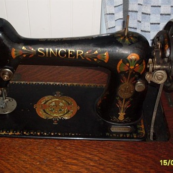 Singer serial number F8840834 - 1919 Australia - Sewing