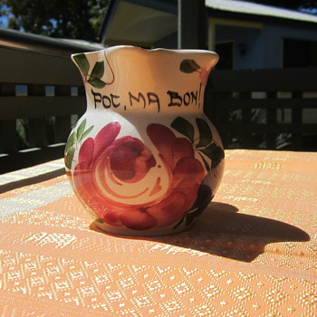 Pot Ma Bon Jug - Art Pottery