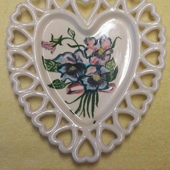 Heart Trinket Dish - Glassware