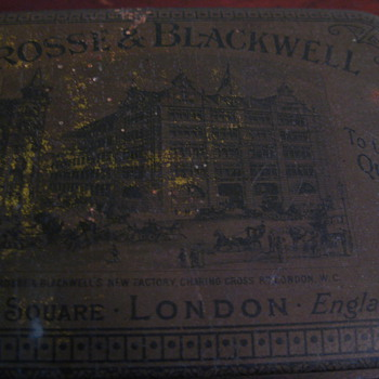 Crosse and Blackwell Tin - Advertising