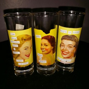 Drinking Glasses or shot Glasses.
