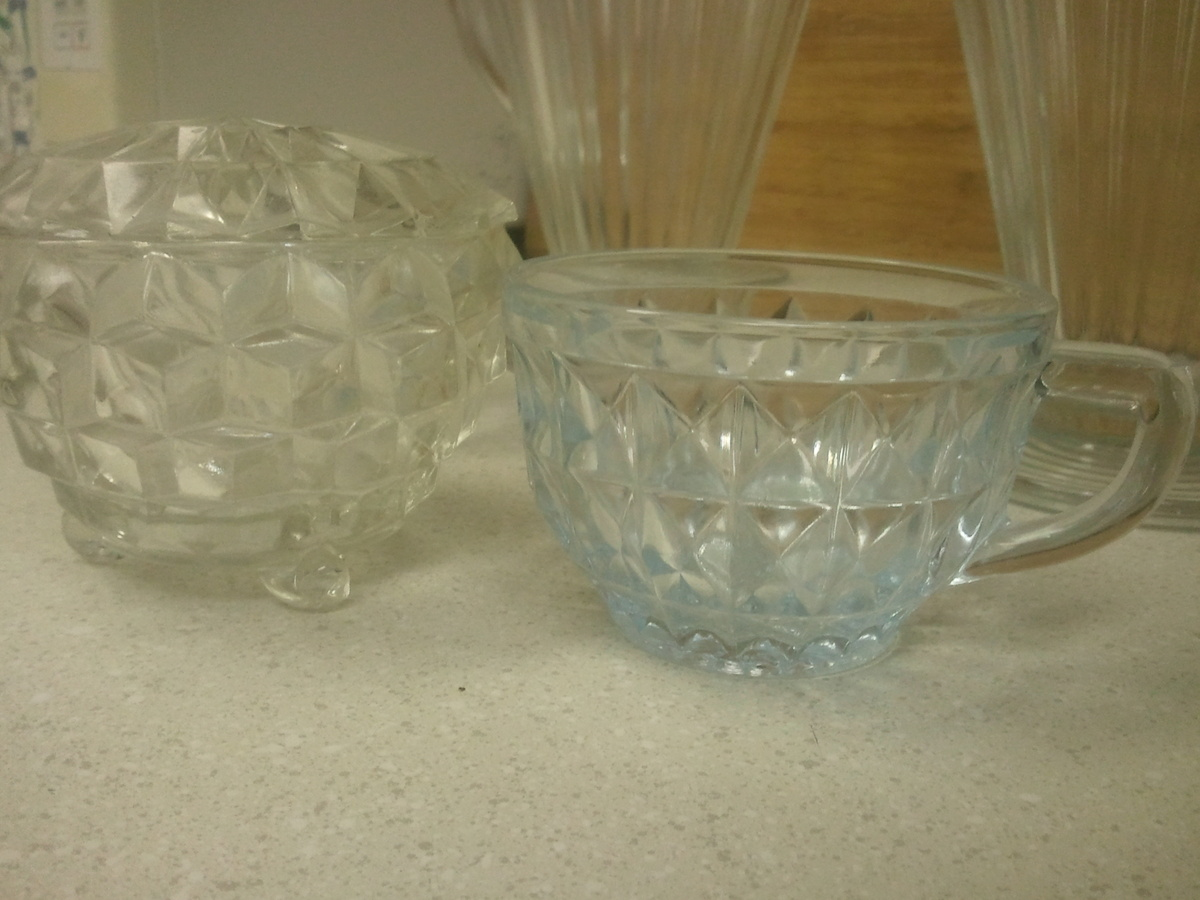 rare depression glass collectors weekly