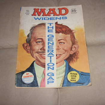 no. 129 sept 1969 35 cent mad magazine - Paper