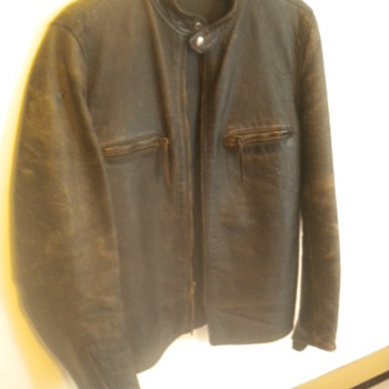 Vintage Buco Leather Jacket Cafe Racer size 42