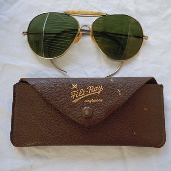 Filt-Ray Sunglasses -- Aviator Style / Did Ray Ban copy these? - Accessories