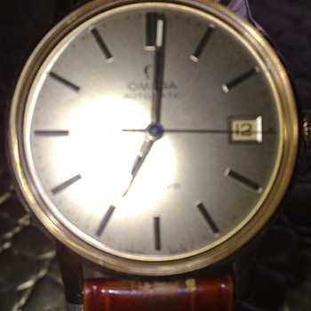 18KT GOLD OMEGA GENEVE  - Wristwatches