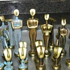 Brass/Verdigris Chess Set