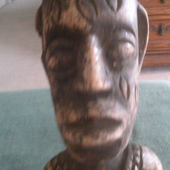 African wood Totem? - Folk Art