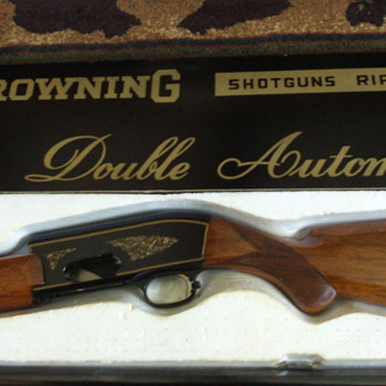 Belgium Browning Double Automatic Shotgun - Sporting Goods