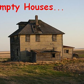 Empty Houses.....Had a Story - Photographs
